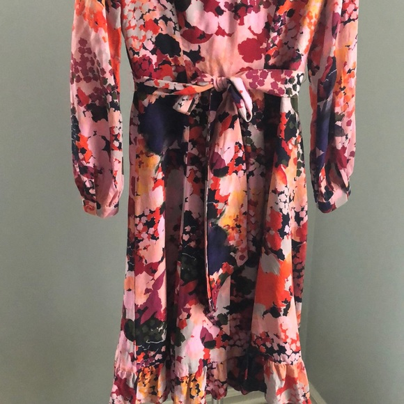 2acf9e2a0505 Maeve Dresses & Skirts - Anthropologie Maeve floral silk dress size 0P